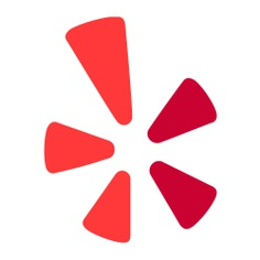 See more icon inspiration related to yelp, brands and logotypes, brands, communications, logos, logotype, logo, commerce, social network, social media, media and business on Flaticon.