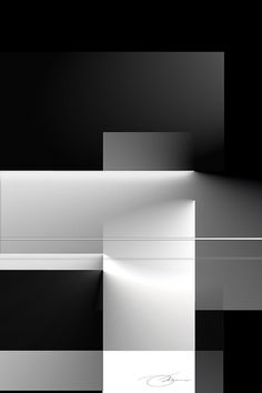 Black and White 2 #design #art #architecture #white #photoshop #black and white #black #grayscale #illusion