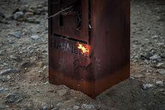 Hafnerei Tyrol #steel #corten #cut #austria #design #laser #website #photography #fire #webdesign