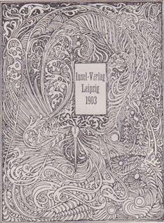 Linotype Font Feature - Art Nouveau Fonts #1903 #nouveau #book #cover #art