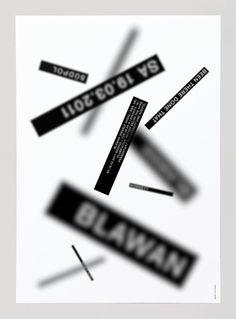 Blawan #feixen #design #graphic #pfffli #poster #felix