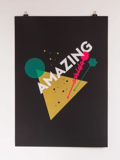 4 color screen print inspired by De jeugd van tegewoordig's Tante Lean printed on 370gr Fedrigoni Sirio Ultra Black #gezeever #screenprint #