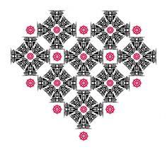 O Açougue De Minhas Próprias Idéias #heart #vector #pattern #complex #love