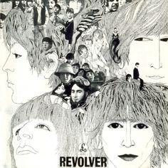 BEATLES+help.jpg (953×953) #beatles #design #graphic #black #revolver #illustration