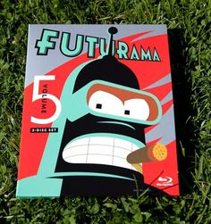Futurama Season 5 Graphics (NOTCOT) #design #graphic #illustration #futurama #typography