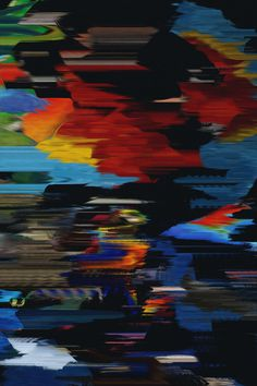 Mesmerised Reality by Quentin Deronzier #glitch #colors #paint #distort #graphic
