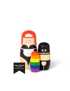 EXPRESSIONS - Sex edition - Nesting dolls designed by Benjamin Hansen