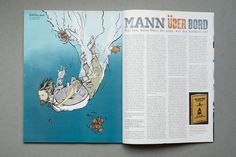 SURFERS MAGAZIN #surfer #illustration #magazine