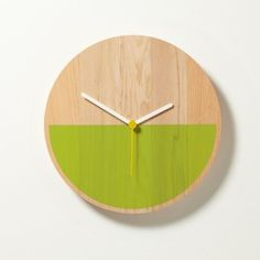 Primary Clock - Minimalissimo #based #design #products #product #wood