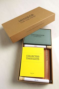minibar for the mind #stationery #set
