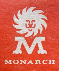 061509_monarch.jpg 380×453 pixels #mark #logotype #serif #lion #orange #draplin #star #logo