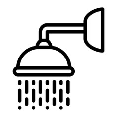 See more icon inspiration related to shower, bathroom, water, relax, furniture and household, shower head, hygiene, cleaning, washing and medical on Flaticon.