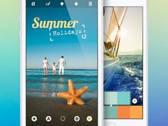 Photo Editing iOS App UI by http://ramotion.com #inspiration #ux #ramotion #photo #application #interface #ui #iphone #app #mobile #photoshop #editor #gui