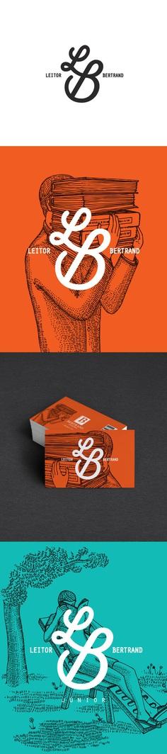 Reader Bertrand – Rebranding by Vera Gomes