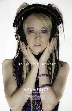 character poster for MESMERIZE the movie
