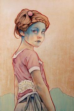 Within White Stretched Canvas by Michael Shapcott | Society6 #portrait #art