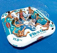Fiesta Private Island Float #tech #flow #gadget #gift #ideas #cool
