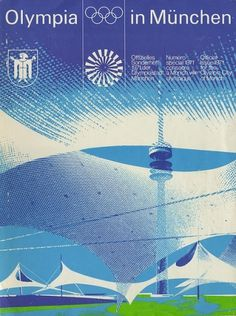 Olympia in München: Official Issue 1971 for the Olympic City of Munich | Flickr - Photo Sharing! #design #graphic #munchen #vintage #1970s #olympics