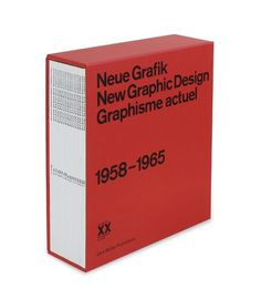 Neue Grafik/New Graphic Design/Graphisme actuel — Lars Müller Publishers #neue #grafik