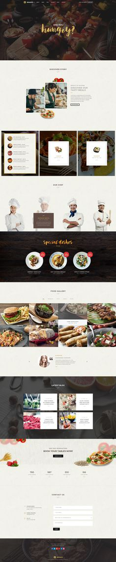 Brando #Responsive & #Multipurpose #OnePage #WordPress #Theme For #Restaurant by #ThemeZaa https://goo.gl/ePNxYs