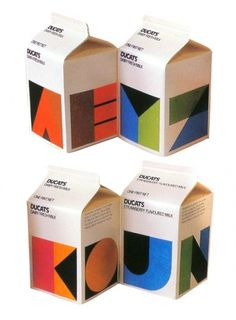 Ducats Milk Packaging | AisleOne #packaging #design #graphic