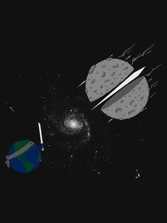 Asteroid Ninja #movie #design #graphic #sci #fi #illustration #gaming