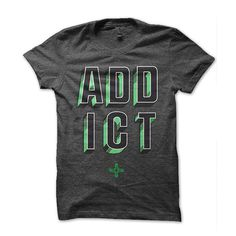 Addict Clothing #apparel #print #tshirt #shirt #screen