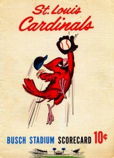 It's a long season. #baseball #scorecard #vintage #cardinals