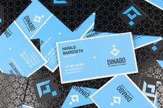 onestepcreative » Identity System for Dinabo Bedrift #business #logo #cards #branding