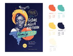 AFRO FUSION FESTIVAL on Behance