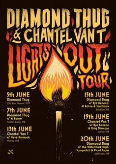 Diamond Thug 'Lights Out' Tour
