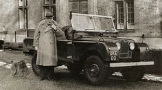 Winston Churchill Land Rover #churchill #autos #land #winston #cars #vintage #rover