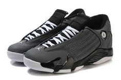 Alarmed: Retro 14 with Black White and Grey Color Online Jordan Brand