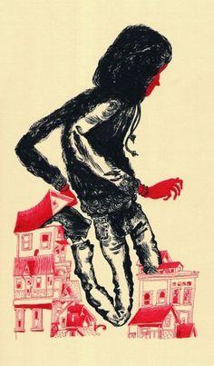 SubSub / Joseph Lambert #subsub #print #lambert #illustration #joseph