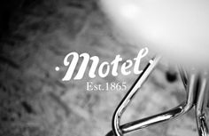 FFFFOUND! #logo #motel #branding