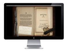 Balzac Brasserie - Branding / Identity / DesignBranding / Identity / Design #romantic #vintage #story