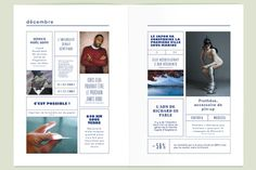 Editorial Magazine Page Layout