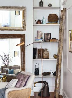 inside out magazine ladder #interior #design #decor #deco #decoration