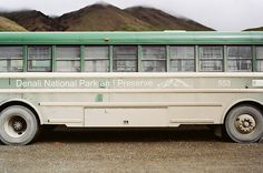 Alaska Wes Sumner #bus #photo #photography #alaska