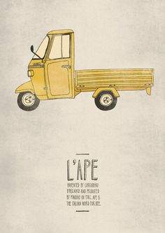 L'Ape #emily #illustration #isles #poster