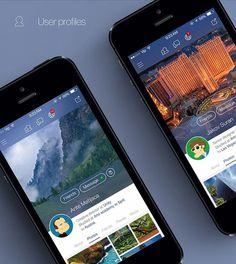 Facebook iOS 7 redesign #7 #design #facebook #app #ios