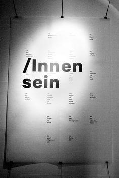 theworkshop #innen #poster #schlager #christian #sein #typography