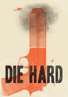 Die Hard Art Print #poster