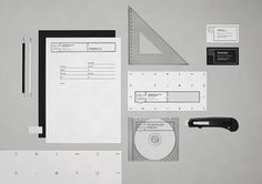 Arch Idea identity & website on the Behance Network #arch #idea #branding #stationery