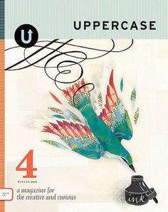 UPPERCASE - Issue 4, Winter 2010 #layout