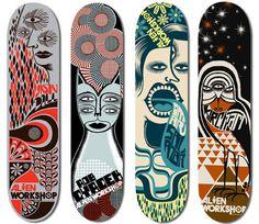 Alien Workshop Skateboards on Behance