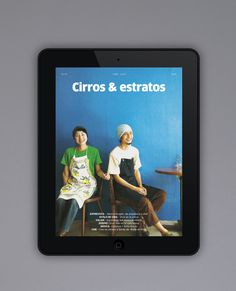 Cirros & estratos #ipad #magazine