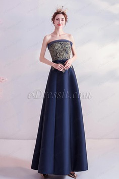 eDressit Sexy Corset Gold Embroidery Empire Party Prom Gown (36225905)