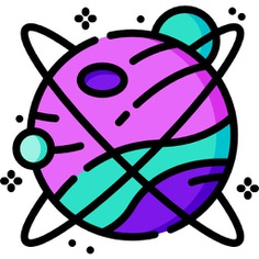 See more icon inspiration related to space, planet, earth, miscellaneous, planet earth, solar system, astronomy, universe, galaxy, planets and nature on Flaticon.