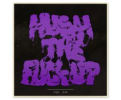 Hush Mixtapes | Strawberry Militia #fat #lettering #mixtape #purple